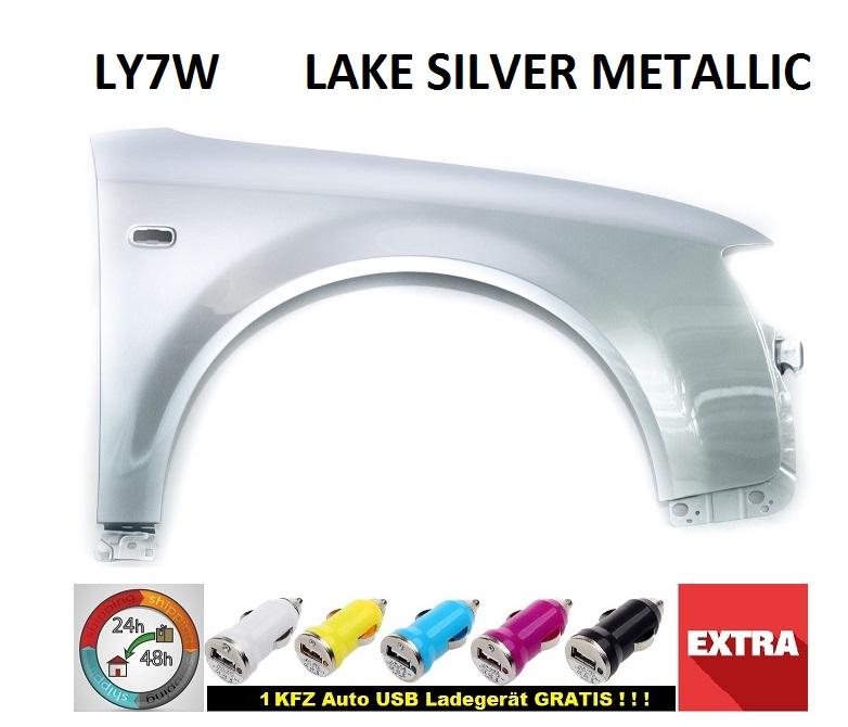 Audi a4 b6 8e2 Garde-boue ly7w Lake Silver Metallic juridique Nouveau Bj 2000-2004